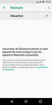 Motorola Moto G6 - Internet et connexion - Connexion avec un équipement multimédia via Bluetooth - Étape 7