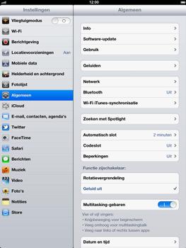 Apple The New iPad - Bluetooth - headset, carkit verbinding - Stap 3