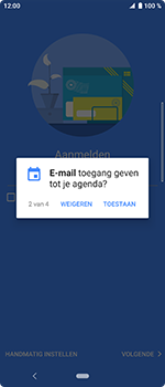 Sony Xperia 10 - E-mail - handmatig instellen (outlook) - Stap 11