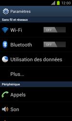 Samsung Galaxy S II - Réseau - Sélection manuelle du réseau - Étape 4