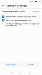 Huawei P9 - Android Nougat - E-mail - Configuration manuelle (outlook) - Étape 9