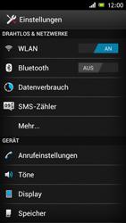 Sony Xperia J - Anrufe - Rufumleitungen setzen und löschen - 0 / 0