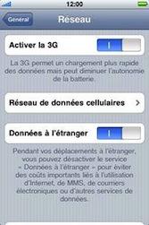 Apple iPhone 3G - Internet - Utilisation à l