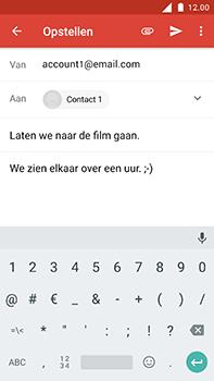 Nokia 6 - E-mail - E-mail versturen - Stap 9