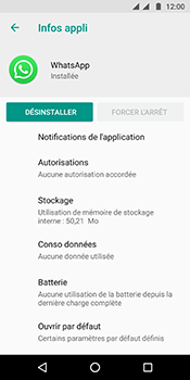 Motorola Moto G6 - Applications - Supprimer une application - Étape 7