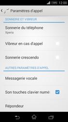 Sony D2203 Xperia E3 - Messagerie vocale - Configuration manuelle - Étape 5