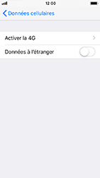 Apple iPhone 5s - iOS 12 - Internet - Désactiver du roaming de données - Étape 6