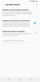 Samsung Galaxy S8+ - Android Oreo (SM-G955F) - Software updaten - Update installeren - Stap 5