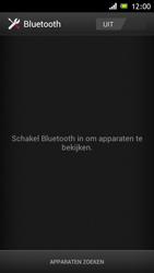 Sony ST26i Xperia J - bluetooth - headset, carkit verbinding - stap 5