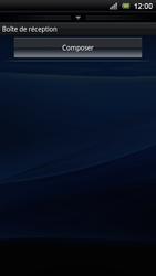 Sony Xperia Ray - E-mail - Envoi d