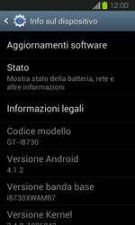 Samsung Galaxy Express - Software - Installazione degli aggiornamenti software - Fase 6