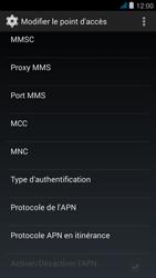 Wiko jimmy - MMS - Configuration manuelle - Étape 12