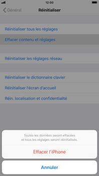 Apple iPhone 6 Plus - iOS 12 - Appareil - Réinitialisation de la configuration d