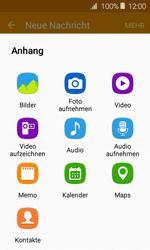 Samsung J120 Galaxy J1 (2016) - MMS - Erstellen und senden - Schritt 19