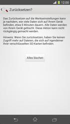 Sony Xperia Z1 Compact - Fehlerbehebung - Handy zurücksetzen - 9 / 11