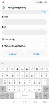 Huawei P20 Lite - E-Mail - Manuelle Konfiguration - Schritt 10