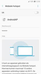Samsung Galaxy A5 (2017) (SM-A520F) - WiFi - Mobiele hotspot instellen - Stap 7