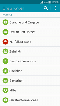 Samsung Galaxy Note 4 - Software - Installieren von Software-Updates - Schritt 5