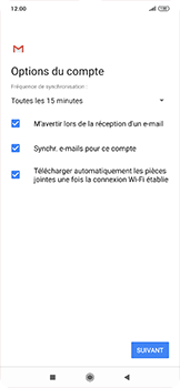 Xiaomi RedMi Note 7 - E-mail - 032c. Email wizard - Outlook - Étape 10