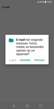 LG V30 (H930) - E-mail - Account instellen (POP3 zonder SMTP-verificatie) - Stap 22