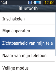Samsung B3410 Star Qwerty - bluetooth - aanzetten - stap 6