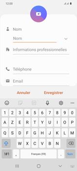 Samsung Galaxy S20 - Contact, Appels, SMS/MMS - Ajouter un contact - Étape 7