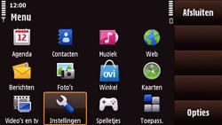 Nokia N97 Mini - MMS - Handmatig instellen - Stap 3