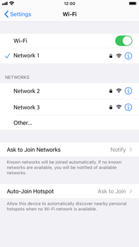 Apple iPhone 8 Plus - iOS 14 - WiFi - WiFi configuration - Step 7