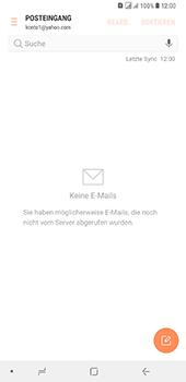 Samsung Galaxy A8 Plus (2018) - E-Mail - Konto einrichten (yahoo) - Schritt 11
