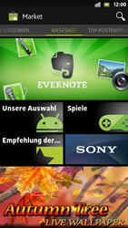 Sony Xperia S - Apps - Konto anlegen und einrichten - 20 / 21