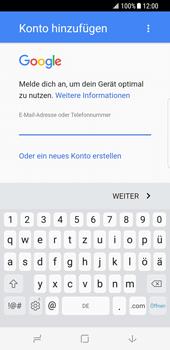 Samsung Galaxy S8 - E-Mail - Konto einrichten (gmail) - 10 / 18