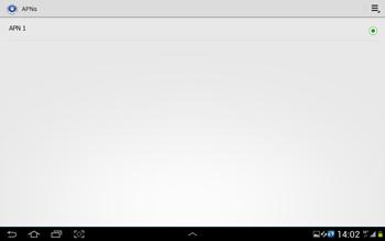 Samsung Galaxy Tab 2 10.1 - MMS - Manuelle Konfiguration - Schritt 7