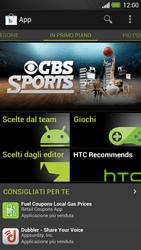 HTC One - Applicazioni - Configurazione del negozio applicazioni - Fase 16