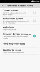 Bouygues Telecom Ultym 5 - Internet et connexion - Désactiver la connexion Internet - Étape 6