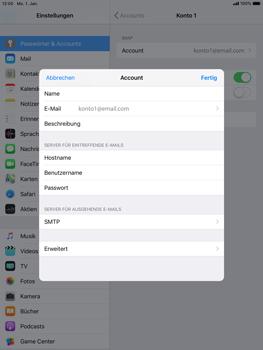Apple iPad mini 3 - E-Mail - Konto einrichten - 26 / 30
