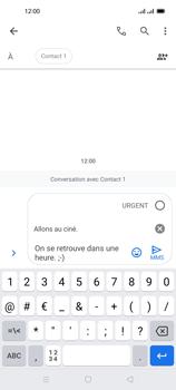 Oppo Reno 4 Pro - Contact, Appels, SMS/MMS - Envoyer un MMS - Étape 14