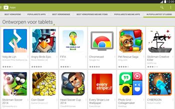 Samsung Galaxy Tab4 10.1 4G (SM-T535) - Applicaties - Downloaden - Stap 12