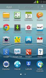 Samsung Galaxy S III Mini - Rete - Selezione manuale della rete - Fase 3