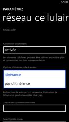 Nokia Lumia 1320 - Internet et roaming de données - Désactivation du roaming de données - Étape 6