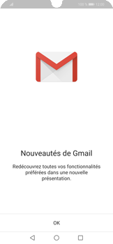 Huawei P Smart (2019) - E-mails - Ajouter ou modifier votre compte Gmail - Étape 4