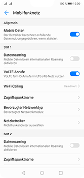 Huawei P20 Lite - Ausland - Auslandskosten vermeiden - 8 / 8