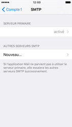 Apple iPhone 5s iOS 9 - E-mail - configuration manuelle - Étape 20