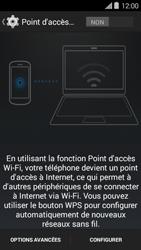 Bouygues Telecom Ultym 5 II - Internet et connexion - Partager votre connexion en Wi-Fi - Étape 11