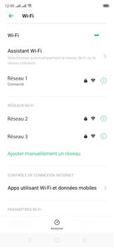 Oppo Reno 2Z - Internet et connexion - Accéder au réseau Wi-Fi - Étape 8