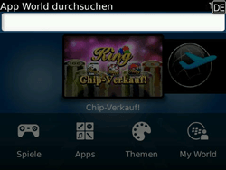 BlackBerry Bold - Apps - Herunterladen - 10 / 11
