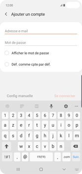 Samsung Galaxy S10 Plus - E-mail - 032c. Email wizard - Outlook - Étape 7
