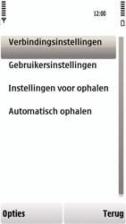 Nokia 5230 - e-mail - handmatig instellen - stap 21