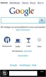 Nokia Lumia 710 - Internet - Internet gebruiken - Stap 8