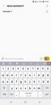 Samsung Galaxy A8 Plus (2018) - MMS - Erstellen und senden - 12 / 25