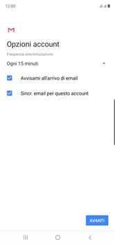 Samsung Galaxy Note 10 - E-mail - configurazione manuale - Fase 20